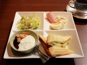 ホットサンドセット(ハムチーズレタス)
